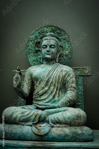 Plakat Bangkok Tajlandia: Świątynia Wat Nak Prok (178 /, Soi Thoet Thai 46, Khwaeng Pak Khlong Phasi Charoen, Khet Phasi Charoen, Krung Thep Maha Nakhon 10160)