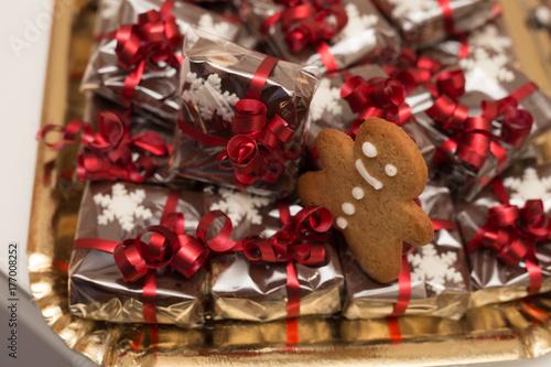 Zdjęcie XXL Ciastka świąteczne jako prezent
