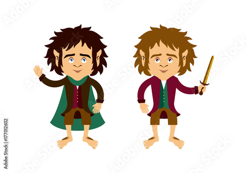 Photo  Hobbit vector