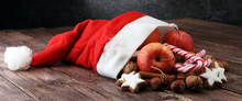 Christmas Cookies And Santa Ha...