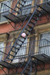 The pink balloon in New York City