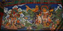 Fresco Guardian Deity