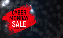 Cyber Monday Background Sale C...