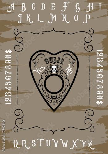 Fotografie, Obraz Ouija board