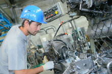 Man On Industrial Production L...