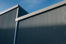 Exterior Of Modern Warehouse Building