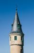 Turret of the Segovia Alcazar against a Blue Sky