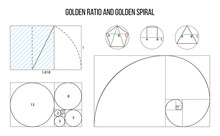 Golden Ratio Template Vector, ...