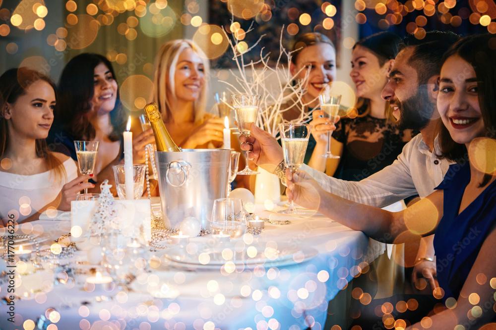 Fototapety, obrazy: Christmas party