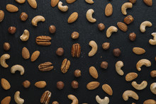 Variety Of Mixed Nuts - Almond...
