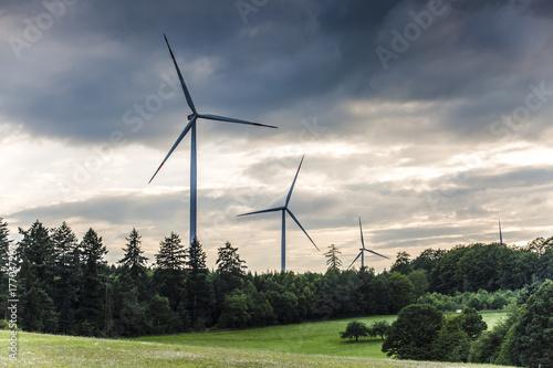 Zdjęcie XXL farma wiatrowa