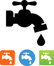 Outdoor Water Faucet Icon
