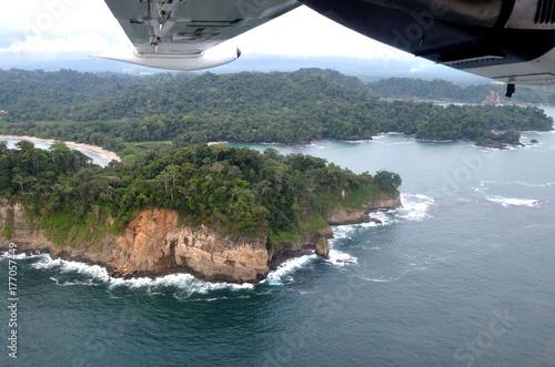 Fotografie, Obraz  Costa Rica, Manuel Antonio National Parc, vue aérienne