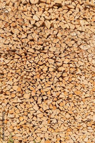 Abstract wood face cut texture pattern