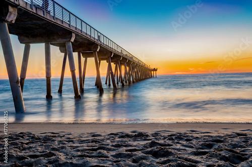 Hermosa Beach Pier Canvas-taulu