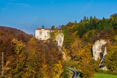 Plakat Zamek w Pieskowej Skale