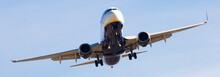Ryanair Airlines Plane Landing