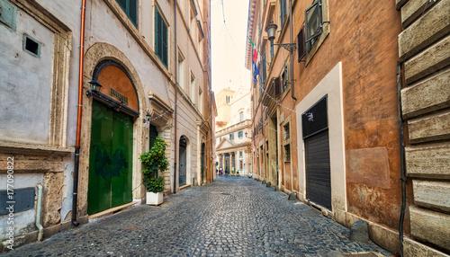 Zdjęcie XXL ulica Rzymu