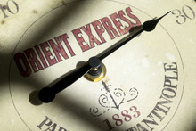 Concept Of Orient Express Travel