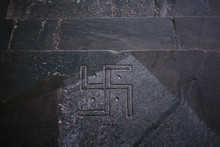 Image Of A Swastika In A Buddh...