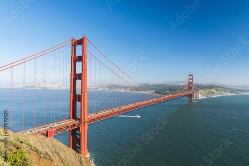 Photo sur Toile San Francisco Golden Gate
