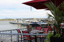 A Waterfront Restaurant With A...