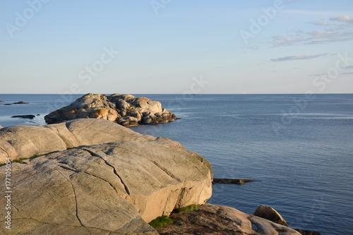 Norwegen, Norge, Verdens Ende, Oslofjord, Ende, Fjord, Insel, Tjøme, Vestfold, S Obraz na płótnie