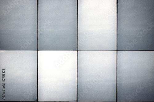 Fototapeta Blank lined noisy film strip texture background obraz na płótnie