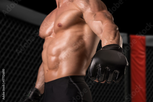 Plakat Zawodnik MMA