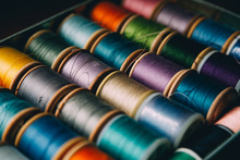 A Collection Of Sewing Threads