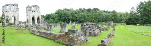 Photo sur Toile Con. Antique Historical Ruins