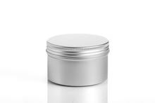 Empty Aluminum Jars Cosmetic, ...