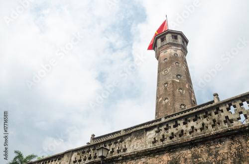 Fotodibond 3D stare wieże strażnicze wojny wietnamskiej