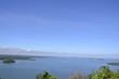 beauty scene with blue sky