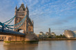 Tower Bridge in the morning, London, England