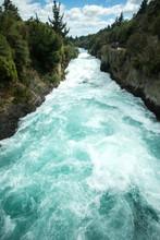 The Huka Falls River