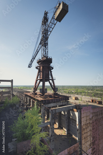 Plakat Dźwigowa elektrownia