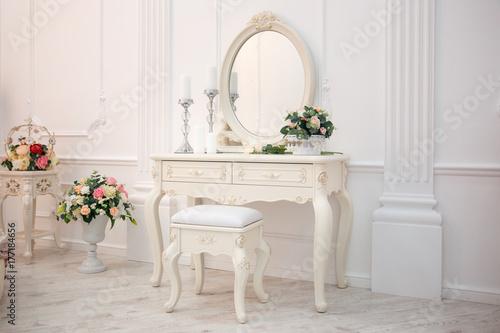 Tablou Canvas Boudoir table