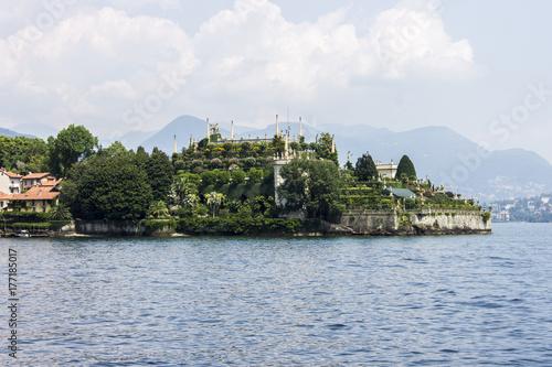 Zdjęcie XXL Isola Bella (dosłownie piękna wyspa), jedna z wysp Borromee Lago Maggiore w północnych Włoszech