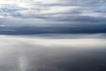 Fototapeta Brume sur la mer