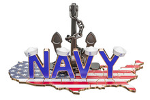 Navy Day In USA Concept, 3D Re...