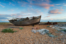 Boat At Dungeness In Kent