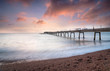 Sunrise at deal in Kent
