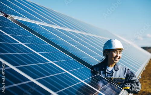 Fotografie, Obraz  solar power station