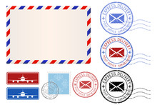 Postal Elements. Envelope, Sta...