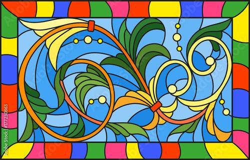 ilustracja-w-witrazu-stylu-z-abstraktem-wiruje-i-opuszcza-na-blekitnym-tle-h