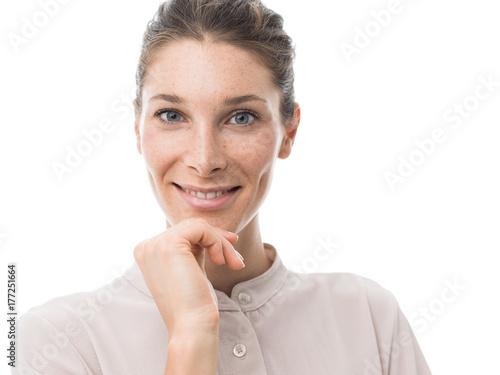 Valokuva  Beautiful confident woman