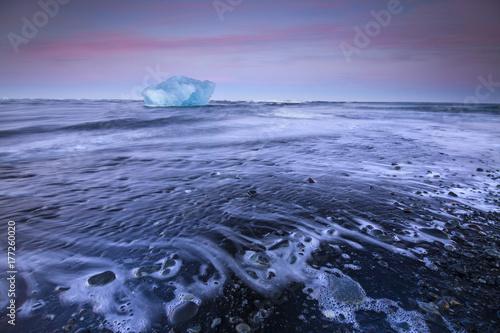 Plakat Islandia / Jokulsarlon
