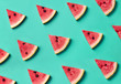 canvas print picture Colorful pattern of watermelon slices