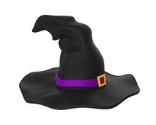 Halloween Witch Hat Isolated